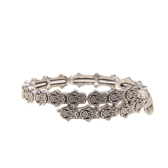 Alex and Ani Jewelry - Alex and Ani Hand of Fatima Charm Bracelet
